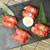 ◇コース料理に黒毛和牛の肉寿司等こだわり料理を♪