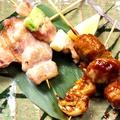 料理メニュー写真【串焼き】5本盛り合わせ