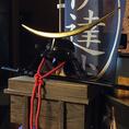 【仙台観光の思い出に】戦国武将「伊達政宗」の兜と眼帯をつけて記念撮影ができるのも伊達哉ならでは!