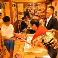 ぜひご来店いただき、鹿児島魚鮮水産 北千住東口店のマグロ解体ショーを直にお楽しみください♪