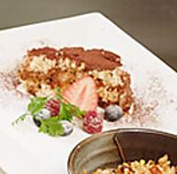 「そら」の人気デザートを担当するのは元パティシェ。