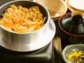 料理メニュー写真鴨の釜飯