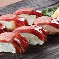 料理メニュー写真黒牛の押し寿司