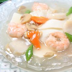 海鮮と豆腐のうま煮
