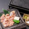料理メニュー写真牛タン/日向地鶏