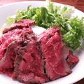 料理メニュー写真数量限定!ローストビーフ丼ランチ
