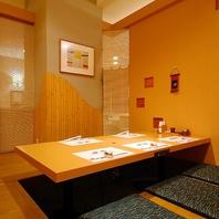 仙台駅近の個室空間。少人数~最大18名様までご利用可能