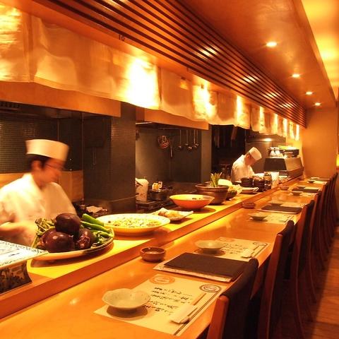 創業20年以来、愛され続ける和食の名店。素材の魅力を最大限に引き出す職人技が光る…
