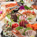 【お得な飲み放題付コース2980円~◎】リーズナブルにお愉しみいただけるプランや、普段よりも贅沢にご宴会を愉しみたい時には上質脂ののったプリプリの鮮魚刺身や料理長自慢の調理法で仕上げるこだわり逸品など極上プランで各種宴会,飲み会などにご利用ください。お得なクーポンと併せてご確認下さいませ!