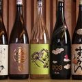 料理メニュー写真品揃え豊富な日本酒