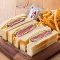料理メニュー写真【限定15食】名物!牛フィレステーキ宮サンド