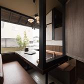 窓側の個室は3部屋★BOX席風