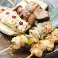 料理メニュー写真六角鶏の五種盛合せ