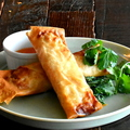 料理メニュー写真ベトナム風揚げ春巻き/ Vietnamese Spring Roll