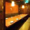 12名様の個室テーブル席です。人気席なのでご予約を!
