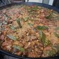 じっくり炊き上げたら、美味しい美味しいmorimori特製パエリアの完成です♪