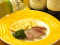 料理メニュー写真スペイン産ソフトサラミロンガニーザ