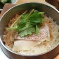 料理メニュー写真鳴門鯛のかま飯