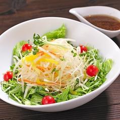 料理メニュー写真3種の大根サラダ