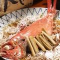 料理メニュー写真◆金目鯛の煮付