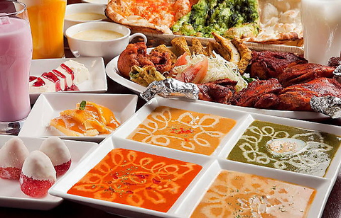 カレー料理専門店アバシでは、本格的なカレー料理がお手頃価格で楽しめる!!