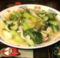 料理メニュー写真チンゲン菜の塩味炒め(香茹油菜)