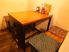 テーブル席もございます