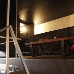 2階のロフト席は半個室部屋になっており、プロジェクター完備でスポーツ観戦にもってこいですっ!!