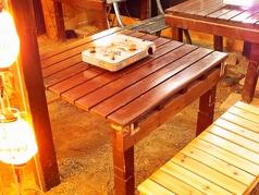 4名掛けテーブル×4卓