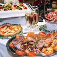 ◆当店では貸切や結婚式2次会のお客様にがより便利に使えるように、ビュッフェスタイルのお食事もご準備させて頂いております♪また、他にウェディングケーキや各種設備の貸し出し等も行っております♪なかなか、場所が見つからない幹事様は是非当店へご相談くださいね!場所の下見なども承っております♪