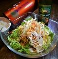 料理メニュー写真台湾風汁なし担々麺 台湾式担々乾麺