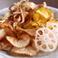 料理メニュー写真自家製根菜チップス