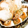 料理メニュー写真海老のアヒージョ
