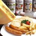 料理メニュー写真ラクレットチーズセット