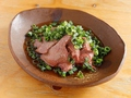 料理メニュー写真朝引き鶏のレバ刺し
