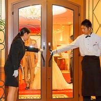 ホテルレストランだからできる洗礼された空間。