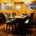 仕事帰りに気の合う仲間と一杯♪ワイワイ楽しめるテーブル席もございます♪