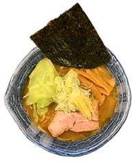 太麺濃い白湯