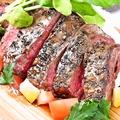 料理メニュー写真大人気!!牛はらみのステーキ