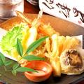 料理メニュー写真天婦羅の盛り合わせ ~旬の魚と野菜~