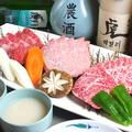 料理メニュー写真上肉3品
