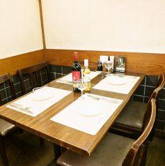 4~6名様のテーブル席