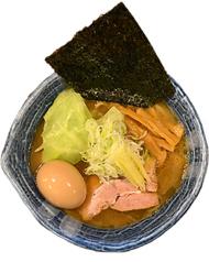 味玉太麺濃い白湯