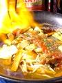 料理メニュー写真ファヒータ(ポーク・チキン)