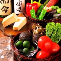 厳選素材を使用し素材の味を活かしたごちそう料理を提供