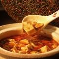 料理メニュー写真辛口本格麻婆豆腐
