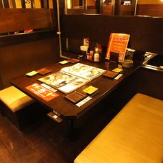 少人数からご利用いただけるテーブル席をご用意☆各種宴会をはじめ仲間での飲み会や女子会など様々なシーンでご利用いただけます!