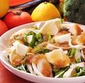料理メニュー写真日向夏と新玉ねぎのサラダ