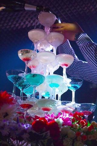 【誕生日・記念日サービスコース】★スパークリングワインサービス★2時間飲み放題