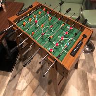 サッカーのボードゲームで遊べます♪